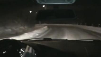 Bmw E36 City Snow Drift