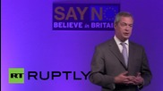 UK: Surprise! Farage attacks Corbyn at UKIP National Conference