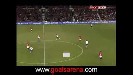 Манчестър Юнайтед 2 :1 Тотнам Бербатов Гол