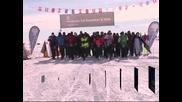 В обектива: Леден маратон в Антарктида
