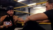 Enzo Amore & Colin Cassady show off some new merchandise - Video Blog June 5, 2014