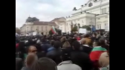 Опит за сплашване На Протестиращите полицаи и на Български войнски съюз '' Васил Левски ''