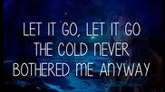 Demi Lovato - Let It Go (frozen) - Lyrics