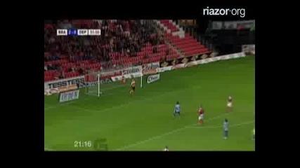 Uefa Cup Sk Brann - Deportivo 2 - 0