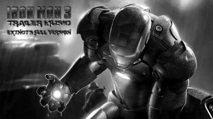 Iron Man 3 Trailer Music - Full Version