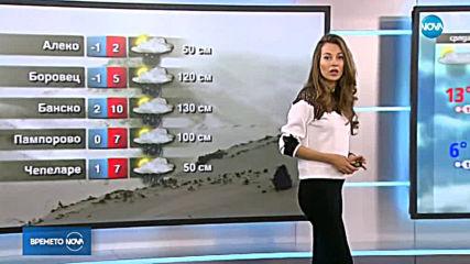 Прогноза за времето (26.03.2019 - централна емисия)