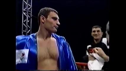 Големият брат Витали срещу българина Албен Белински