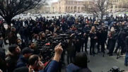 Armenia: Protesters honk car horns, block traffic in Yerevan rally against PM Pashinyan