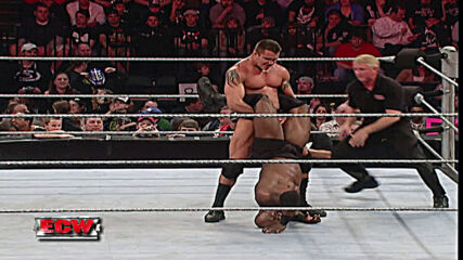 Bobby Lashley vs. Randy Orton: ECW, March 13, 2007 (Full Match)