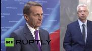 Russia: We won't take part in OSCE Parliamentary Assembly in Helsinki - Duma's Naryshkin