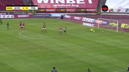 ЦСКА - Лудогорец 1:0 /първо полувреме/