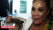 Natalya & Tamina's emotional first moments with the WWE Women's Tag Team Titles