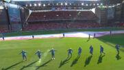 Атмосферата преди Дания - Белгия