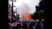 Панатинайкос Ultras (ЦСКА - Палете Факлите)