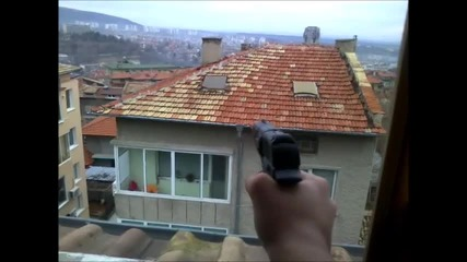 стрелба с газов пистолет
