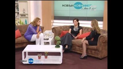 """Ани Цолова гостува на Ани Салич в """"Извън новините"""" (30.09.2014г.)"""
