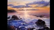 Морските вълни в картините на Иво Узунов