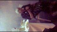 Баба Пее На Сватбата на внука си