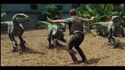 Джурасик свят - Супербоул трейлър (рептилиите срещу човечеството)
