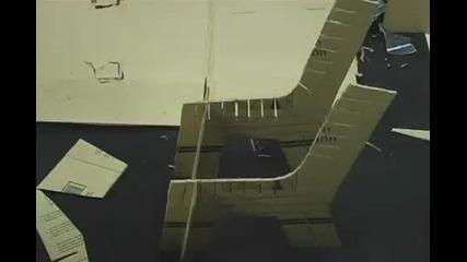 Направи си стол от картон