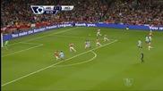 Без победител във вълнуващото дерби между Арсенал и Сити