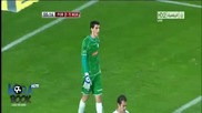 David Villa Amazing Free Kick Goal Barcelona 2-1 Deportivo Alaves 28.11.2012 Hd