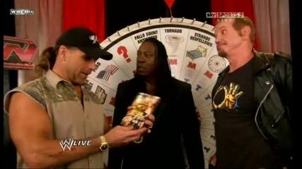 Shawn Michaels Отново Прави Шоу :d