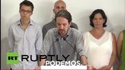 Spain: Podemos' Iglesias lauds 'No' vote in Greek referendum