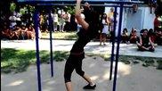 Спортно момиче мечта на шампионата в град Девин