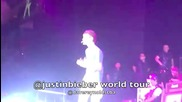 Justin Bieber - O L L G - My World Tour на живо в Birmingham, Uk 04.03.2011
