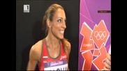 Златната ни Ивет Лалова преди и след полуфинала на 200 метра - Интервюта