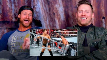 Miz and Dolph Ziggler watch their wild Ladder Match from WWE TLC 2016: WWE Playback