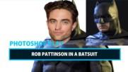 Celeb Photoshop Transformation: Robert Pattinson as Batman