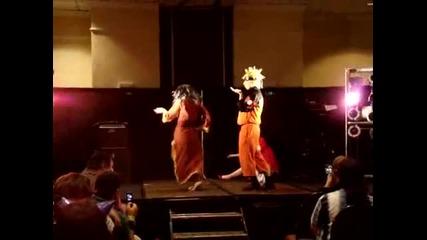 Naruto Dances to Single Ladies-кючек и луд фен се включва