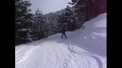 Мальовица - Писта Меча Поляна - Спускане