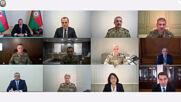 Azerbaijan: Aliyev holds emergency meeting after fighting erupts in Nagorno-Karabakh