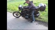 Мотоциклет с двигател на Лада