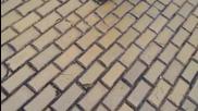 Момче скочи върху колата на Кутев, полицията бие