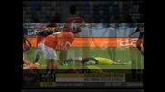 Luisao ( Benfica ) - Съдията в нокаут