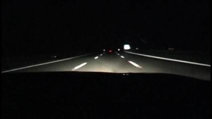 Две Турбо Супри съскат по магистралата