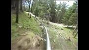 Mieders Alpine Coaster (with no brakes!!)