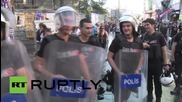 Turkey: Water cannon & teargas deployed as clashes mar Istanbul Gay Pride
