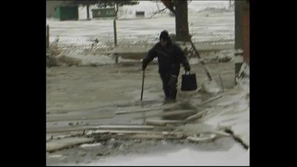 Замръзналия кв.гебран в Свиленград 08.02.2012
