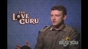 The Love Guru - Jutin Timberlake Interview