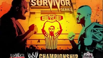 Грамадата Срещу Ренди Ортън - Survivor Series (2013)