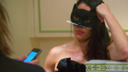 Nikki Bella's friends and family venture into a haunted wine cellar during her bachelorette party in Paris: Total Bellas