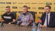 Пресконференция на Ботев Пловдив преди старта на подготовката