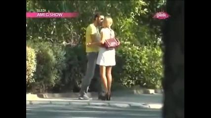 Natasa Bekvalac i Vlada Vuksanovic - Paprazzo Lov - (TV Pink 2012)