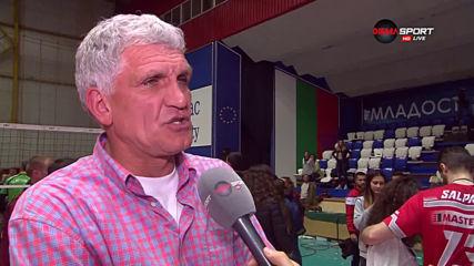 Везенков: Имаме сигурност за бъдещето на ВК Нефтохимик, искаме да запазим ядрото