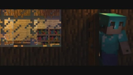 A Minecraft Parody of Usher's Dj Got Us Fallin' in Love